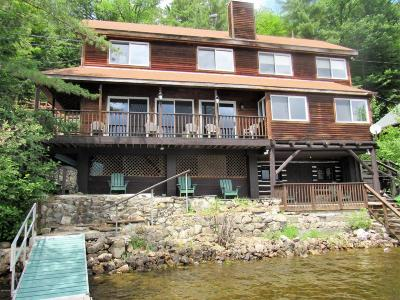 Schroon Single Family Home Contingent Contract: 323 N Shore Road