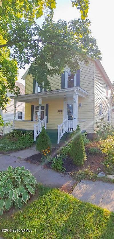 Glens Falls Single Family Home For Sale: 18 Flandreaux Avenue