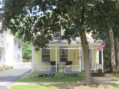 Saratoga County Single Family Home For Sale: 12 Mechanic Street