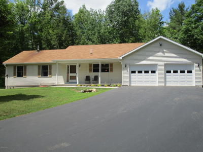 Schroon Single Family Home Contingent Contract: 20 Maple Lane