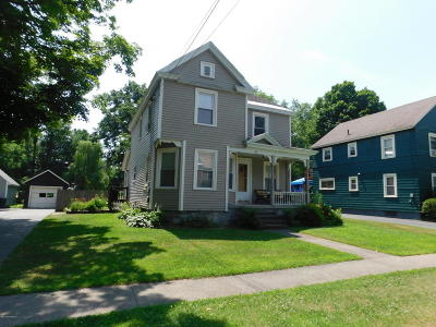Hudson Falls Vlg NY Single Family Home For Sale: $159,900