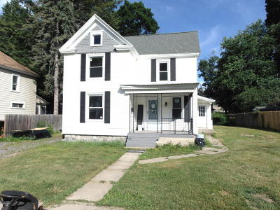 Hudson Falls Vlg NY Single Family Home For Sale: $149,000