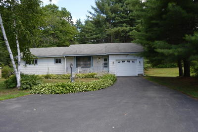 Warrensburg Single Family Home Contingent Contract: 709 E Schroon River Road