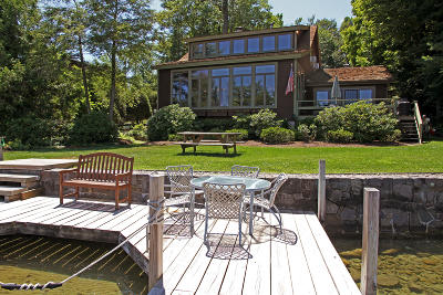 Lake George Single Family Home Contingent Contract: 70 Bay Parkway