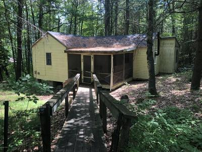 Lake George Single Family Home Contingent Contract: 356 Flat Rock Road