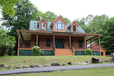 Lake George Single Family Home Contingent Contract: 227 Lockhart Mountain Road