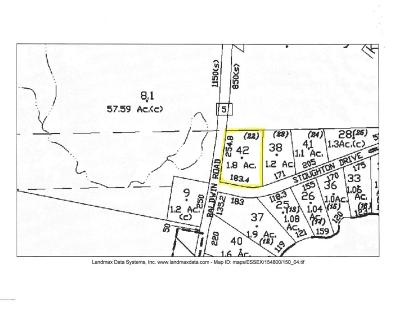 Residential Lots & Land For Sale: Stoughton Drive