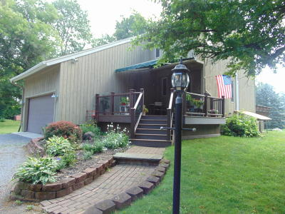 Queensbury Single Family Home Contingent Contract: 44 Meadowbrook Road