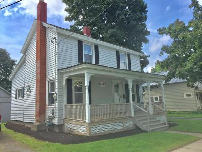 Glens Falls NY Single Family Home For Sale: $169,900