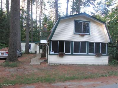 Lake Luzerne Single Family Home Contingent Contract: 20 Pine Road