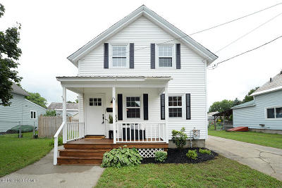 Glens Falls Single Family Home Contingent Contract: 44 Third Street