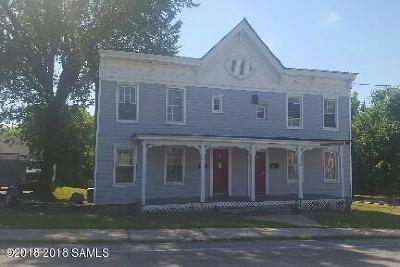 Ticonderoga Multi Family Home For Sale: 53 Champlain Avenue
