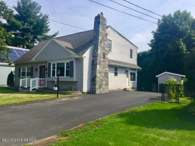 Glens Falls Single Family Home Contingent Contract: 11 Western Avenue