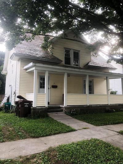 Glens Falls Single Family Home Contingent Contract: 35 Thomson Avenue