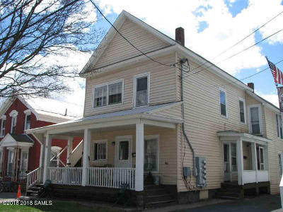 Glens Falls Multi Family Home For Sale: 116 Bay Street