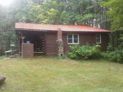 Bolton NY Single Family Home For Sale: $64,900