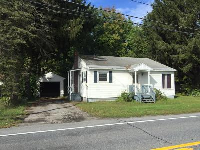 Corinth NY Single Family Home For Sale: $135,000