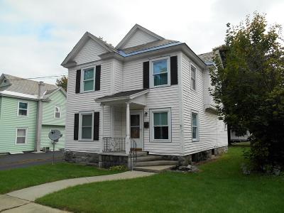 Hudson Falls Vlg Single Family Home Contingent Contract: 12 N Oak Street