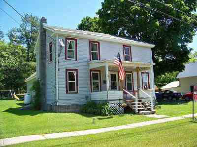 Ticonderoga Single Family Home For Sale: 46 Water Street