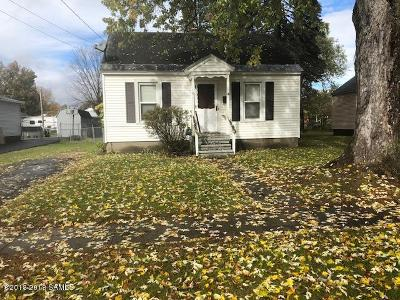 Hudson Falls Vlg Single Family Home Contingent Contract: 71 Coleman Avenue Avenue