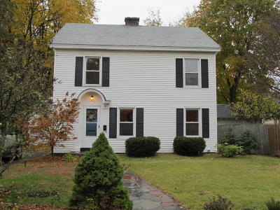 Glens Falls Single Family Home Contingent Contract: 5 Cunningham Avenue