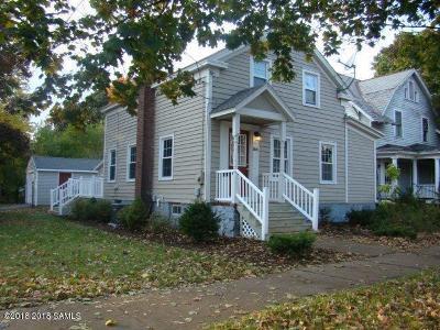 Glens Falls Single Family Home For Sale: 166 Ridge Street