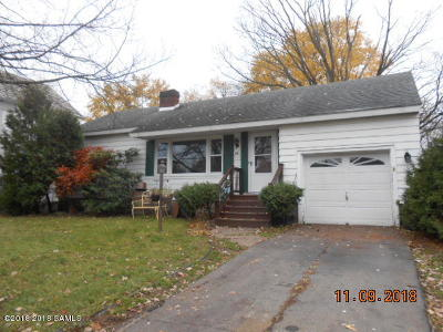 Glens Falls Single Family Home For Sale: 84 Prospect St. Street