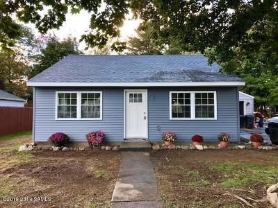 Queensbury Single Family Home Contingent Contract: 43 Hillcrest Avenue