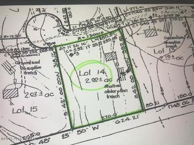 Residential Lots & Land For Sale: Lot 14 Cotherman Drive