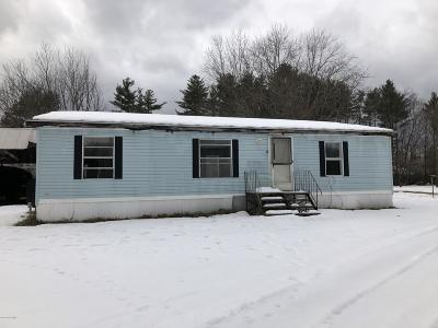 Lake Luzerne NY Single Family Home For Sale: $40,000