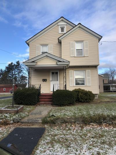 Hudson Falls Vlg Single Family Home For Sale: 55-59 Coleman Avenue