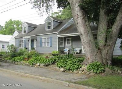 Hudson Falls Vlg NY Single Family Home For Sale: $184,500