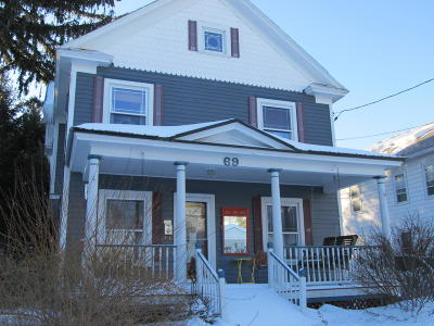 Glens Falls Single Family Home For Sale: 69 Hunter Street