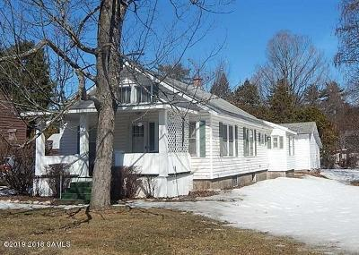 Queensbury Single Family Home Contingent Contract: 55 Dixon Road