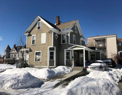 Glens Falls Multi Family Home For Sale: 8 E Notre Dame Street