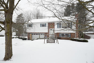 Saratoga County Single Family Home Contingent Contract: 15 Oakwood Drive