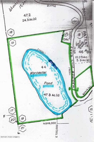 Essex County Residential Lots & Land For Sale: 00 Warner Hill Road
