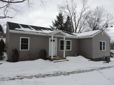 Washington County Single Family Home Contingent Contract: 394 County Route 36
