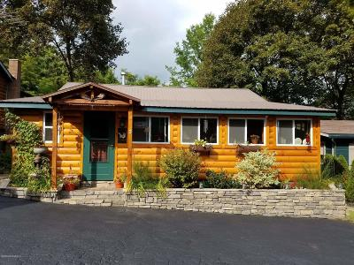 Lake George Single Family Home Contingent Contract: 3 Smokey Bear Lane