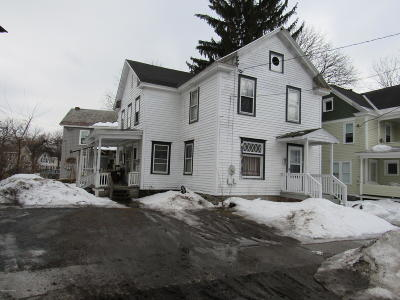 Glens Falls Multi Family Home For Sale: 6 3rd Street