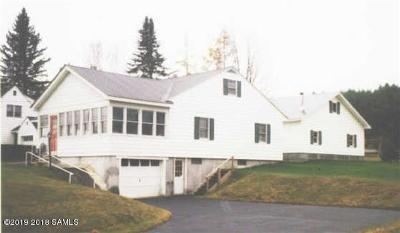 Essex County Single Family Home For Sale: 1697 Nys Rt. , 28