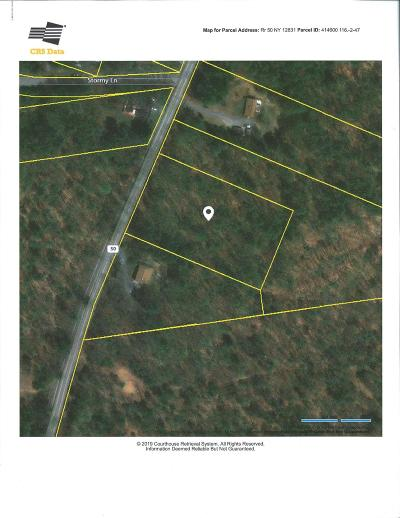 Saratoga County Residential Lots & Land For Sale: Ny-50