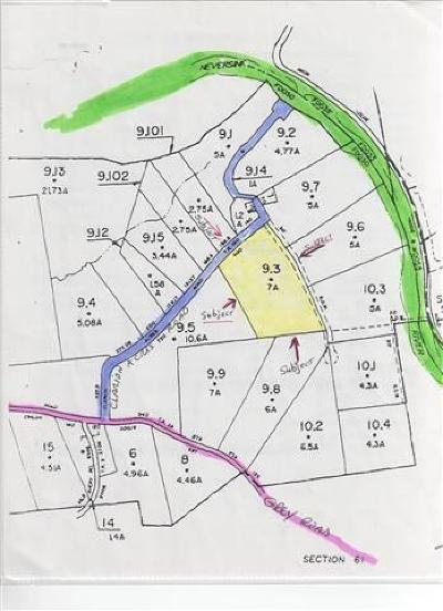 Fallsburg Residential Lots & Land For Sale: (9.3) Clarion Acres