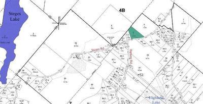 Highland Lake Residential Lots & Land For Sale: (3) Steges Road