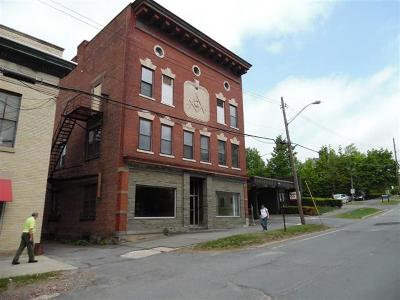 Monticello Commercial For Sale: 10 Bank Street