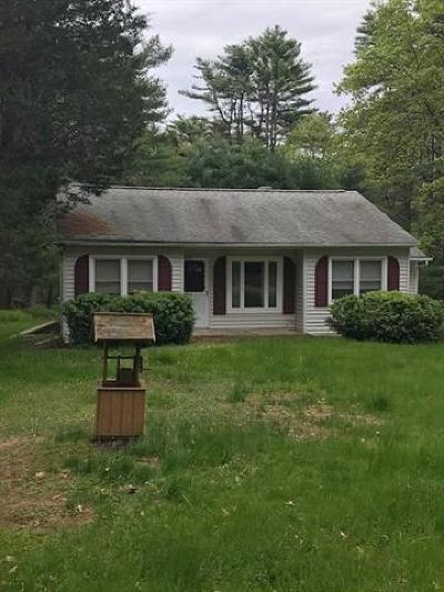 Single Family Home For Sale: 708 State Route 55