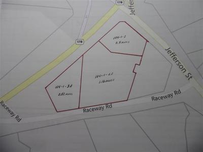 Residential Lots & Land For Sale: Raceway Road