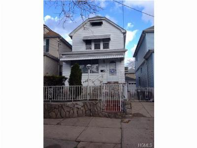 Bronx NY Single Family Home Sold: $402,000