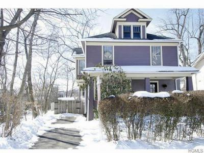 Single Family Home Sold: 123 High Avenue