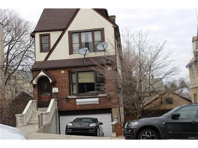Yonkers Multi Family 2-4 For Sale: 63 Villa Avenue